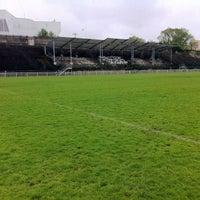 Photo taken at Stade Georges-Lyvet by Emmanuel J. on 4/27/2013