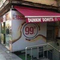 Photo taken at Dunkin Donuts by Batuhan E. on 1/2/2013
