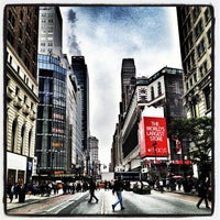 Photo taken at Herald Square by Laura G. on 10/25/2012