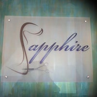 Photo taken at Sapphire Salon and Spa by Patricia Elaine C. on 4/27/2013