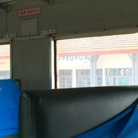 Photo taken at Stasiun Prupuk by Hashim A. on 3/24/2015