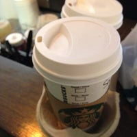 Photo taken at Starbucks by Sandra A. on 2/3/2014