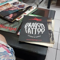 Photo taken at Tattoo Center by Tarkan A. on 5/19/2017