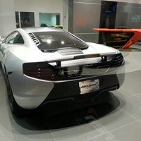 Photo taken at McLaren Auto Gallery Beverly Hills by Andrij T. on 10/27/2013