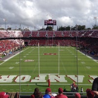 Photo taken at Stanford Stadium by Joel R. on 9/21/2013