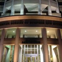 Photo taken at NSU: Carl DeSantis Building by Daniel R. on 12/6/2012