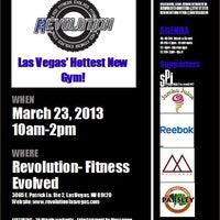 Photo taken at Revolution- Fitness Evolved by Revolution- Fitness Evolved on 3/23/2013