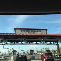 Photo taken at MCB Camp Pendleton - Main Gate by Rick P. on 10/31/2012