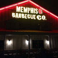 Photo taken at Memphis BBQ Co. by Travis M. on 10/28/2013