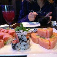 Photo taken at Hoshi Sushi & Hibachi by Travis M. on 7/31/2013