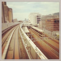 Photo taken at JR Sumiyoshi Station by Becky on 6/30/2013