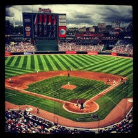 Photo taken at Turner Field by Vanessa R. on 7/14/2013