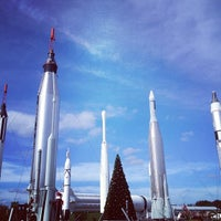 Photo taken at Apollo/Saturn V Center by Bridget G. on 12/20/2012