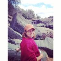 Photo taken at Devils Waterhole by Bridget G. on 2/16/2014