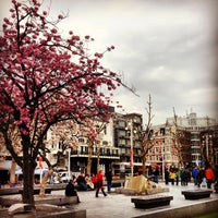 Photo taken at Rembrandtplein by Ekaterina N. on 5/2/2013
