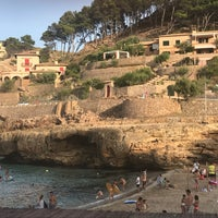 Photo taken at Cala Molins by Maria A. on 8/14/2017