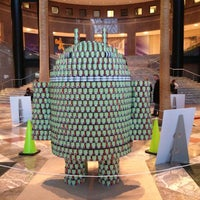 Photo taken at American Express Canstruction Room by Frantz on 2/10/2013