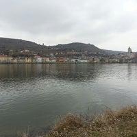Photo taken at Donau by Elisabeth R. on 4/6/2013