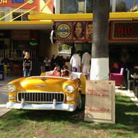 Photo taken at Big Yellow Taxi Benzin by Mehmet G. on 10/16/2013