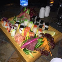 Photo taken at Oshi Asian Interactive restaurant by Nicos A. on 6/6/2015