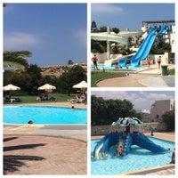 Photo taken at Aqua Fun Water Park Naxos by George N. on 8/22/2015