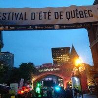 Photo taken at Festival d'été de Québec - siège social by Patrick W. on 7/4/2014
