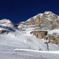 Photo taken at Rifugio ra valles by Susan H. on 2/13/2013