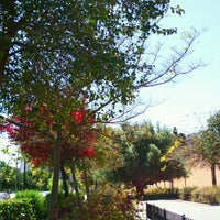 Photo taken at Parque Ferrobus by Esther S. on 4/20/2013