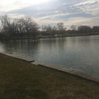Photo taken at Byrd Park Boat (Fountain) Lake by Sinõra 7. on 3/6/2017