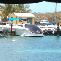Photo taken at Robinson Speed Boat Charters & Cruise Excursions Sint Maarten by Mike P. on 4/23/2013