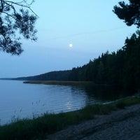 Photo taken at Пляж Прибой by Vsevolod M. on 8/18/2013
