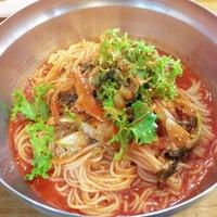 Photo taken at 장비빔국수와 편육 by Bryan suk C. on 10/9/2013