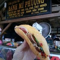 Photo taken at Bánh Mì Phượng by Bryan suk C. on 7/18/2013
