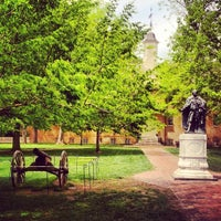 Photo taken at The College of William & Mary by Felix G. on 4/21/2013