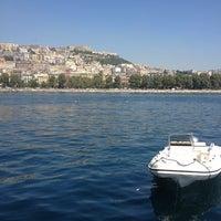 Photo taken at Molo di Sopraflutto Sannazzaro (Molo Luise) | Porto di Napoli by Sinan ö. on 9/6/2013