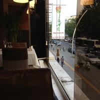 Photo taken at Vişne Cafe & Restaurant by Murat P. on 5/9/2013