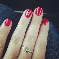 Photo taken at Nice One Nails by Nicole S. on 12/24/2013