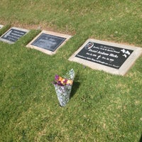 Photo taken at Olivewood Cemetery by Becca H. on 4/27/2013