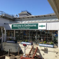 Photo taken at Eastbourne Railway Station (EBN) by Tim J. on 6/30/2013