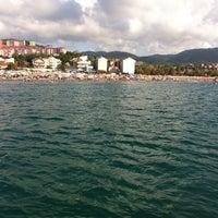 Photo taken at Filyos Sahil by Atakan S. on 7/21/2013