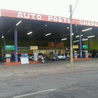 Photo taken at Auto Posto Chaparral by Lucas N. on 10/10/2013