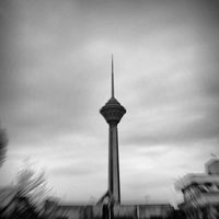 Photo taken at Milad Tower by Mani Y. on 3/23/2013
