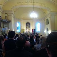 Photo taken at Római Katolikus Templom Mórahalom by Dániel B. on 4/27/2013