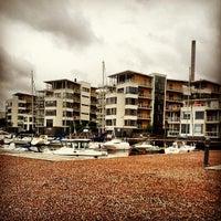 Photo taken at Gåshaga Marina by Björn W. on 6/14/2013