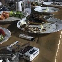 Photo taken at Havuz Başı Restaurant by Ahmet Y. on 8/18/2018
