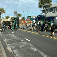 Photo taken at New Smyrna Beach Flagler Ave by Aaron J. on 4/15/2013