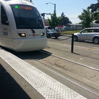 Photo taken at TriMet N Lombard Transit Center by Sunny ❀ {. on 5/10/2013