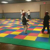 Photo taken at Kickin' It Taekwondo by Heather B. on 3/30/2013