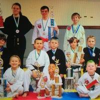 Photo taken at Kickin' It Taekwondo by Heather B. on 11/26/2013