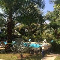 Photo taken at Sabai Resort by Arek S. on 4/25/2014